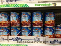 Dollar Tree: Progresso Soup Only $0.50!