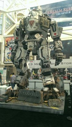 Titan robot from the upcoming game 'titanfall'