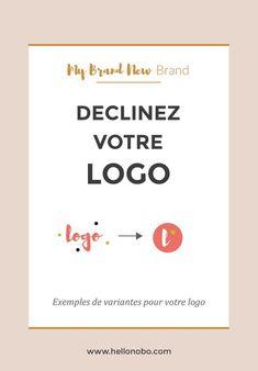 Après avoir créé votre logo principal, vous pouvez en faire une ou deux  variantes simplifiées. Ainsi, vous pourrez les utiliser sur d'autres  supports.  Par exemple, une créatrice de bijoux peut avoir un sigle gravé sur un  médaillon qu'elle accroche sur chaque pièce ; un photographe peut mettre  son logo simplifié dans un coin de son image, tel une signature. Vous  pourrez également vous en servir sur les réseaux sociaux, ou comme favicon.  Voici quelques exemples de déclinaison de logo…
