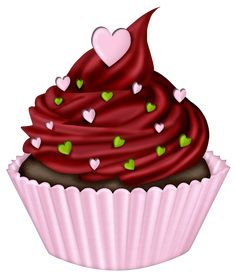Valentine Cake Clip Art : 1000+ images about Cup-Cakes on Pinterest Clip art ...