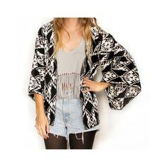 kimono cardigan, outfit. | Fashion loves. | Pinterest | Kimonos ...
