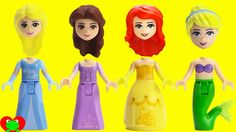 Disney Princess Lego Minifigures Wrong Heads Magical Surprises