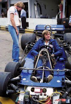 1977 Brasilian Grand Prix-James Hunt-Peterson's Tyrrell P34 - Seen in action at Kylami Circuit, Johannesburg, 2003 - amazing!