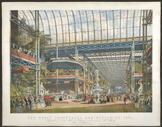 "May 1, 1851, was the most exciting day in London, ever. It marked the launch of the ""Great Exhibition"" in the brand-new Crystal Palace - 13,000 exhibits under one glass roof."