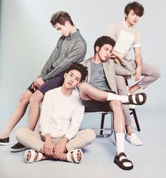 My babies. CNBLUE. I love these guys!! So much talent.