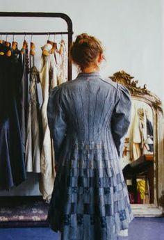 Manon Gignoux... creates wearable art....