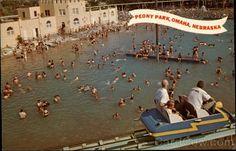 Peony Park Omaha Nebraska Amusement Parks