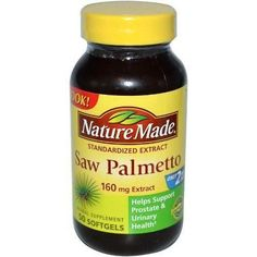 Nature Made Saw Palmetto 160 Mg, 50-count