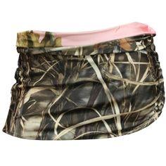 Realtree AP Pink/Max-4 Reversible Skirt