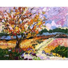PAY ATTENTION! this is a visual that nearly all palette knife paintings look good; don't think about it too hard. Just paint!