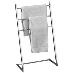 Buy Premier Housewares 3 Arm Towel Stand - Chrome at Argos.co.uk, visit Argos.co.uk to shop online for Towel rails and rings