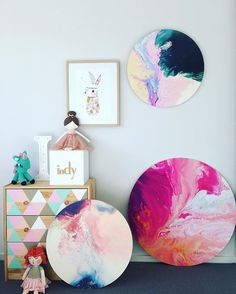 So many beautiful pieces that would look ah-mazing in a girls room! Aerial…