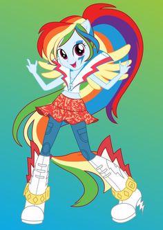 Rainbow Dash by ZoeVulpez on deviantART