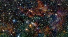 Billion of stars from The Milky Way in one image (credits: Dante Minniti DAA-UC/ Ignacio Toledo ALMA) Department of astronomy and astrophysics Pontificia Universidad Católica de Chile