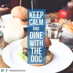 Love this!! #Repost @freedomknox  Keep Calm and Dine With The Doc!  Invite your friends and join the Freedom Team for a FREE Dinner with the Doc at Cru Bistro in Turkey Creek.  Tuesday May 24 at 7pm  Call (865) 325-4710 to reserve your spot! #ilovelocalknoxville #knoxville #knoxvilletn