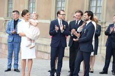 The Swedish royal family celebrate King Carl Gustaf XVI's 40th Jubilee
