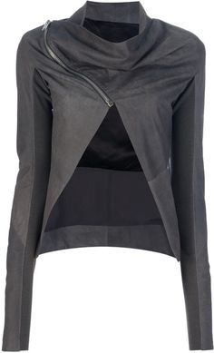 Cropped Jacket - Lyst