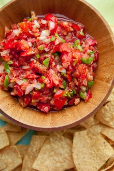 Garden Harvest Salsa, perfect with all the tomatoes from your garden!