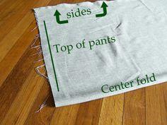 Easy Breezy Wrap Pants Tutorial   Laupre