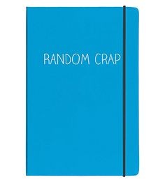 HAPPY JACKSON - Random Crap A5 notebook | Selfridges.com
