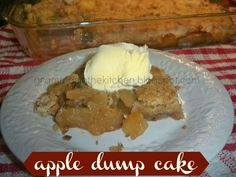 Gramma's in the kitchen: Apple Dump Cake