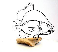 Sunfish Wire Sculpture- 173542720