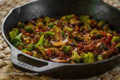 Chorizo Stir Fry  #21dsd #paleo #chorizo