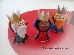 Nespresso - the 3 kings Christmas Fair Ideas, Christmas Tree Art, Christmas Nativity, Christmas Love, Christmas Crafts, Christmas Ornaments, Cup Crafts, Diy And Crafts, Crafts For Kids