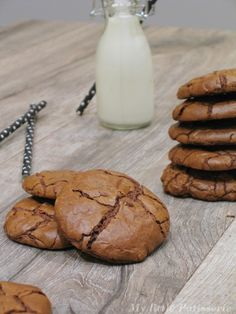 Outrageous Chocolate Cookies { Martha Stewart }