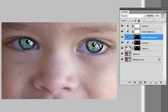 Eye Sharpening – Photoshop Tutorial