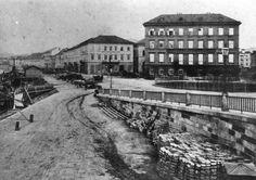 Donaulände Image, Linz, Historical Pictures
