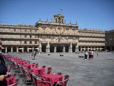 Salamanca... 4 weeks... learned lots of spanish!