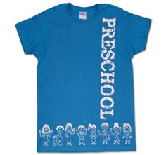 I love my preschoolers http://kreativeinkinder.spreadshirt.com ...