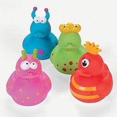 Monster Rubber Duckies (12 Pack)