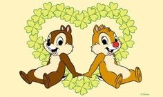 Chip and Dale, would be cute as a tattoo. .... maybe on a tummy by the hip.