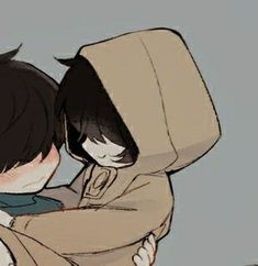 Cute Anime Profile Pictures, Matching Profile Pictures, Cute Anime Pics, Anime Girl Drawings, Anime Couples Drawings, Anime Couples Manga, Friend Anime, Anime Best Friends, Little Nightmares Fanart
