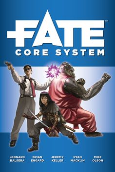 Fate Core System - Grab your plasma rifles, spell components, and jetpacks! Name your game; Fate Core is the foundation that can make it ha I Love Games, Games To Play, Playing Games, English Games, Video Game Development, Twist Of Fate, Typing Games, Sword And Sorcery, My Books