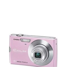 Casio Exilim EX-Z150PK 8MP Digital Camera - Pink 3-Inch LCD Screen with Wide Angle Lens by Casio. $149.99. World's thinnest digital camera with optical stabilizer. 8mp, 4x zoom, 28mm wide angle lens, CCD shift image optical stabilizer, 3-inch LCD screen YouTube ready, instant video button.. Save 25%!