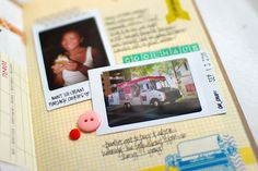 Kelley Purkey's mini book using the Amy Tangerine mini album from AC.