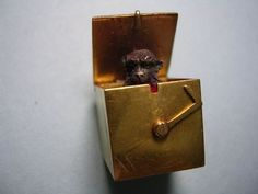 Victorian Gold Jack in The Box Pop Up Monkey Charm Jack In The Box, Locket Charms, Lockets, Charm Bracelets, Charm Jewelry, Victorian Gold, Rare Antique, Clowns, Fashion Jewelry