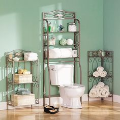 reflections 3 tier metal bathroom storage rack by upton home