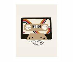 Mix Tape Print