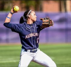 College Softball. WAR EAGLE!!