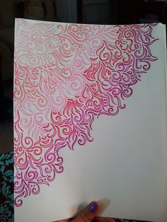 Drawings for Front Page Of Drawing Book New Doodles Zentangle Doodles Zentangles, Zentangle Patterns, Doodle Drawings, Doodle Art, Doodle Inspiration, Doodle Designs, Mandala Art, Art Inspo, Art Sketches