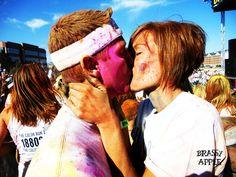 #BrassyApple: @The Color Run ™ - family style! #adventure #bucketlist