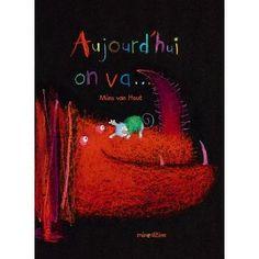 Aujourd'hui on va...  Pour travailler sur le verbe en lien avec l'art visuel