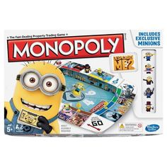 Hasbro Monopoly Despicable Me 2 Game from bigw.com.au. Saved to Epic Wishlist