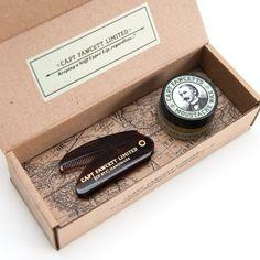 Coffret-Cadeau Cire et Peigne à Moustaches