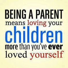I love my kids more than I've ever loved anything!  if you can watch your kids grow up from a distance your not a real mom!