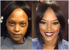18 photos qui prouvent que le maquillage est magique !!